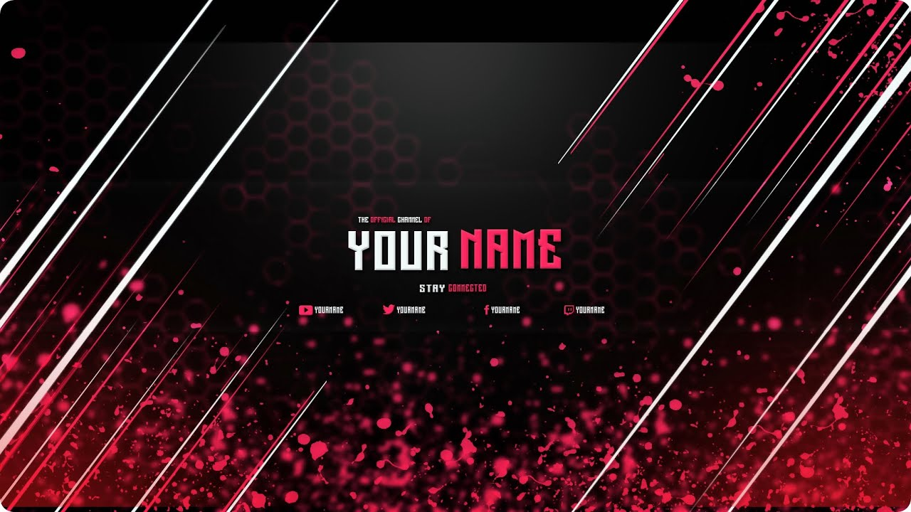 free youtube banner template photoshop cs6 youtube. Black Bedroom Furniture Sets. Home Design Ideas