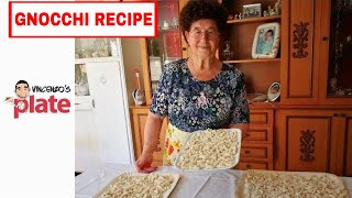 HOW TO MAKE GNOCCHI | Italian Nonna making Gnocchi di Patate | Italian Food Recipes