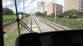 Eerste testen met metro's op Hoekse Lijn