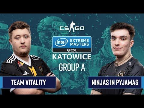 Ninjas in Pyjamas vs Vitality vod