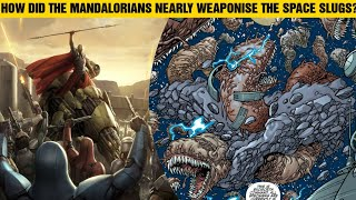How Did the Mandalorians Almost Weaponise the Space Slugs? Star Wars #Shorts