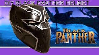 DIY BLACK PANTHER HELMET