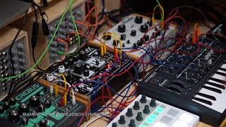 Triple Dreadbox Symphony - Modularjam with NYX / Erebus and Hades (Riamiwo StudioVlog 34)
