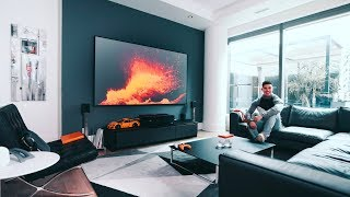 My Modern Tech Living Room Tech Setup Tour   2019 Edition
