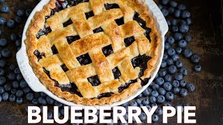 The Ultimate Blueberry Pie Recipe