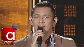 """Gary Valenciano performs FPJ's Ang Probinsyano theme song """"Wag Ka N..."""