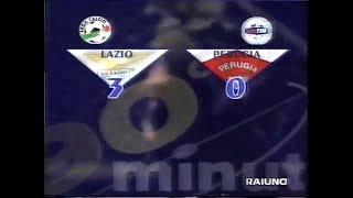 2000-01 (2a - 14-10-2000) Lazio-Perugia 3-0 [Crespo,Mihajlovic(R),S.Inzaghi] Servizio 90°Minuto Rai1