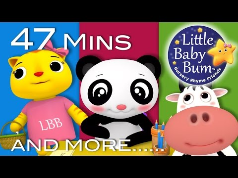 A Tisket A Tasket  Plus Lots More Nursery Rhymes  47 Minutes Compilation from LittleBaBum!