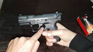 WALTHER P22  GERMAN PISTOL THE BEST