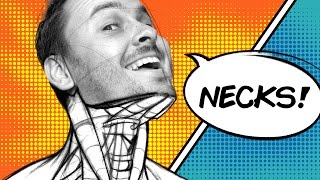 Learn to Draw the Neck - Forms You Should Know