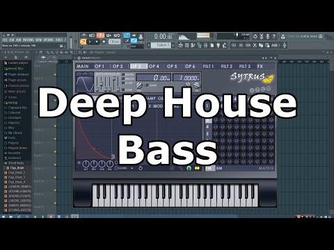 Deep House Bass Tutorial in FL Studio