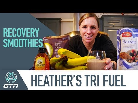 How To Make A Recovery Smoothie | Heather's Recipe For Triathlon Recovery