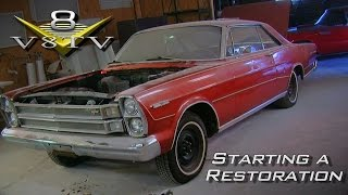 Tips For Starting A Classic Car Restoration at the V8 Speed & Resto Shop Video