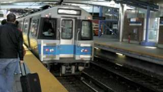 MBTA BLue Line Trains New vs. Old