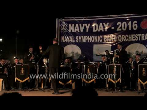 'Vaishnav Jan To Tene Kahiye Je' instrumental by Indian Navy's band orchestra