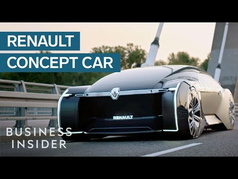Renault's EZ-Ultimo Concept Car Is A Luxury Self-Driving Lounge For The Rich