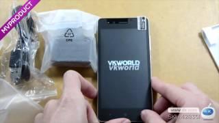 Dx : VKWORLD VK F1 Android 5.1 3G 4.5' Phone w/ 1GB RAM, 8GB ROM