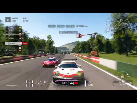 30 lap endurance race Gran Turismo Sport Gameplay PS4 PRO (S