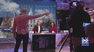 VIDEO: 22News one on one with NBC's Savannah Guthrie on N.H. primary