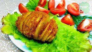 КАРТОШКА хрустящая с панировочными сухарями идея подачи любимой картошки