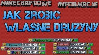 Minecraftowe Informacje #11 - Jak zrobic epickie nazwy druzyn/rang bez modow! NBT Explorer