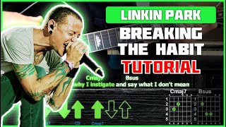 Download Linkin Park - Breaking The Habit | Acoustic Cover | Tutorial | Аккорды и бой Mp3 and Videos