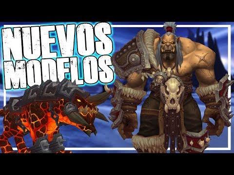Nuevos MODELOS, Monturas y Más!   Battle for Azeroth