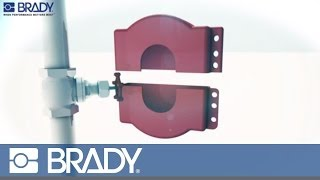 Brady Lockout Tagout Device Movie: Adjustable gate valve lockout