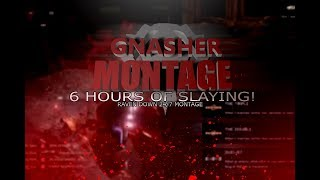 """Gnasher Montage - 6 Hours of Slaying! """"Raven Down 24/7 Montage!!"""" #2 (Gears of War 4)"""