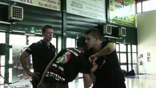 Commando Krav Maga  Moni Aizik in Rome 19-05-2012