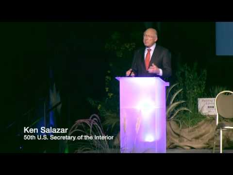 Energy and Water Summit: Jeff Grubbe and Ken Salazar