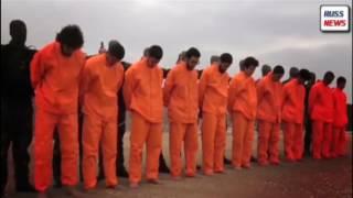 Жестокая расправа сирийскими боевиками,казнили участников ИГИЛ