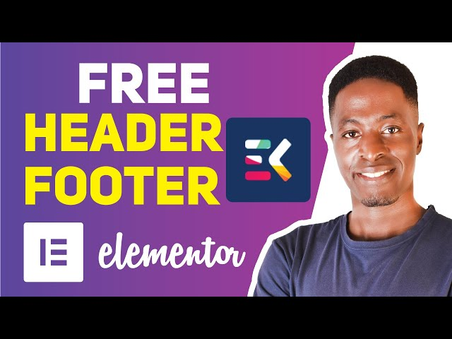 Elements Kit Header and Footer Builder for Elementor (Create free headers, footers and sections)