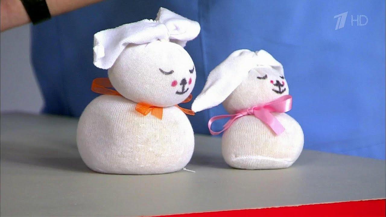 Игрушки зайцы из носков своими руками фото 998