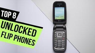 8 Best Unlocked Flip Phones Reviews