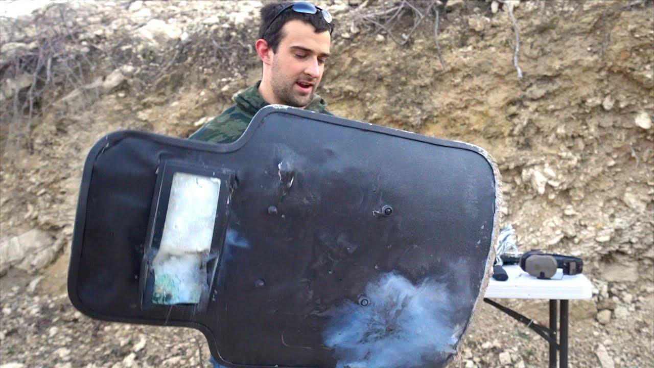 Shooting A $1,000 Riot Shield