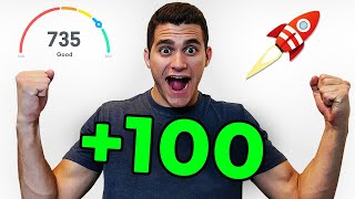 How to Raise Your Credit Score 100 Points Overnight!! (Free Instant Results)