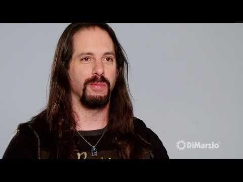 John Petrucci and his DiMarzio® Pickups.