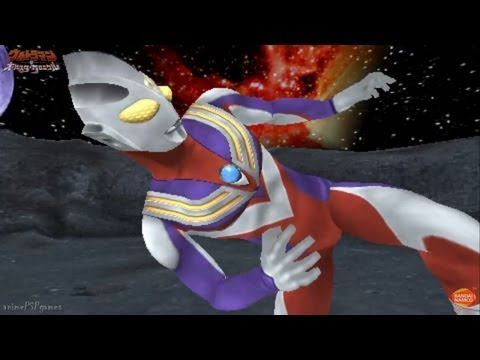 Ultraman All Star Chronicle - All 3D Special Finishing Move ★Play PSP ウルトラマンオールスタークロニクル