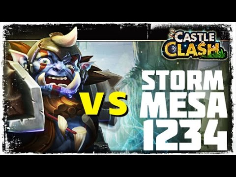 Castle Clash: Orksbane Vs. Storm Mesa 1 2 3 4