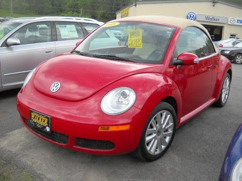2008 vw beetle 2 5 hatchback start up and full tour youtube. Black Bedroom Furniture Sets. Home Design Ideas