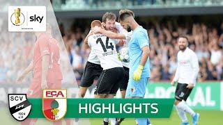 SC Verl - FC Augsburg 2:1 | Highlights - DFB-Pokal 2019/20 | 1. Runde