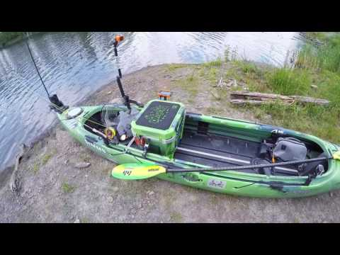 Fishing kayak setup doovi for Bass fly fishing setup