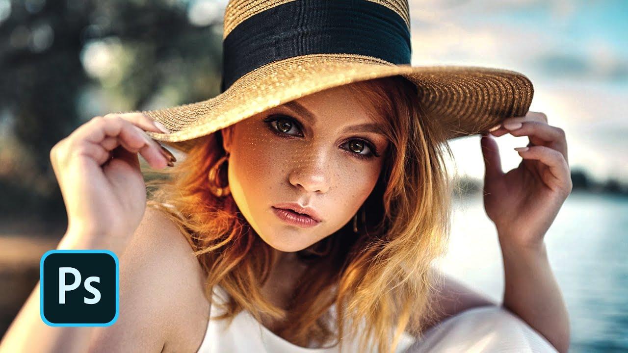 Brownize Outdoor Portrait: Photoshop Tutorial