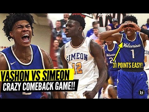 VASHON & CHICAGO SIMEON CRAZY GUARD BATTLE!! PHIL RUSSELL VS AHAMAD BYNUM! UK CAM FLETCHER STEPS UP!