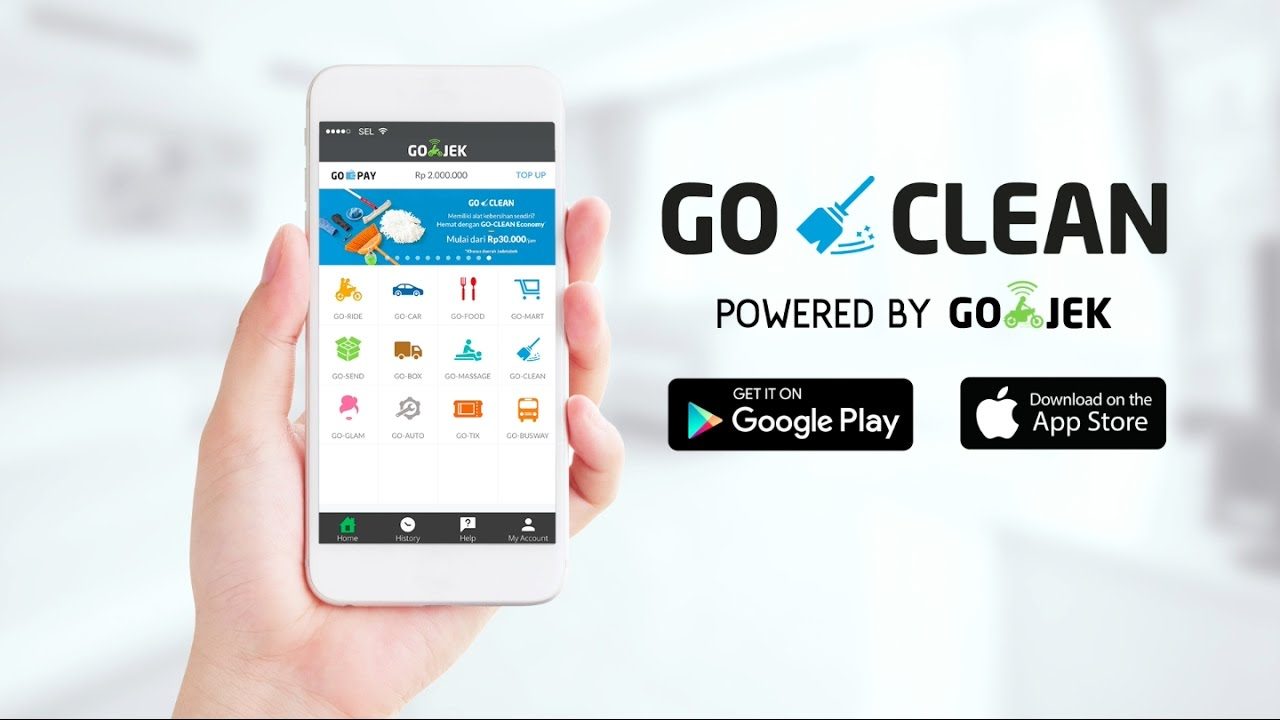 Go Clean Powered By Go Jek Youtube