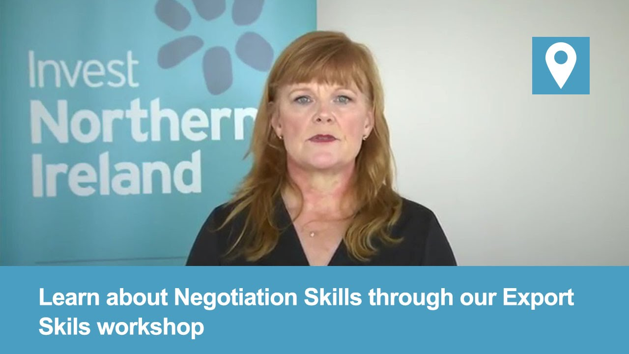 Export Skills Workshop | Negotiation Skills #1