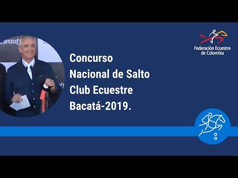 Concurso Nacional de Salto Club Ecuestre Bacatá.