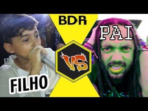 BMO - O Retorno vs Naui MOVNI Filho vs PAI Batalha de RAP do Relógio 3 Anos Duelo Epico