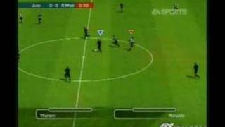 FIFA Soccer 2004 GameCube Gameplay - Gameplay footage